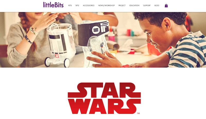 little Bits STAR WARS R2-D2 Droid Inventor Kit